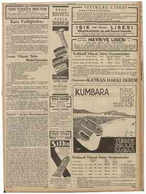 25 Evlul 1936 CUMHURIYET II ŞİŞLİ YENİ TÜRKİYE MEKTEBI DirektörO : 8ENİHA HİZAL / Küçük sınıflardan yabaneı dil derslerine