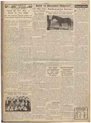 CUMHURIYET 28 Eylul 1936 TUNCELININ lî / / İCYUZU Yazan: B. TURGUT AKAYGÜN ( Şehir ve Memleket Haberleri ) Yenî Adliye sarayı