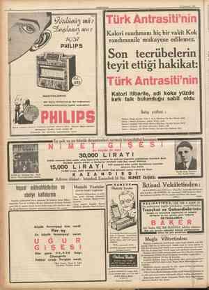 Bugün 1 2 8ahife 2 nci sahifede: Siyasî İcmal, İngiltere Yugoslavya. 3 üncü sahifede: Büyük Avrupa anketimiz Peyami Safa. 6