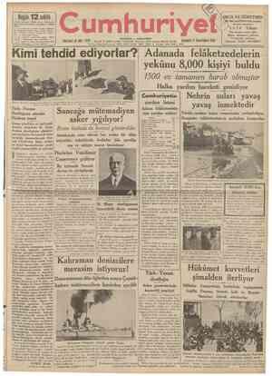 2 ncl sahifede: Siyasî icmal . Muharrem Feyzi, Bir kahramanlık menkıbesi Abidin Daver 5 incl sahifede: Sovyet Rusya, Almanya