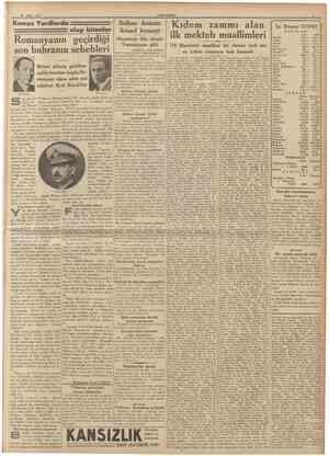 16 Mart 1937 £UMHURİYET Komşu Yurdlarda P A R AL A R j Ahs Sahs Sterlin 614. 619. Dolar 123. 126. Frank 111. 115. Liret 120.