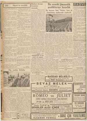 3 Nisan 1937 CUMHURİYET Türk Dil Kurumunun açtığı müsabaka Sinüs ve Kosinüs kel'melerinin öz türkçe olduğu meydana çıktı...