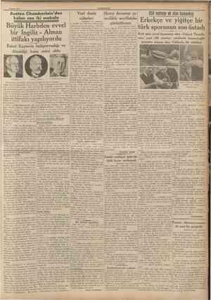 CUMHURİYET 9 Nisan 1937 Mühim ifşaat! Ingiîterede yalnız 17 giinlük un ve buğday stoku kalmış fjlİCumhuriyeti Bu nasıl...