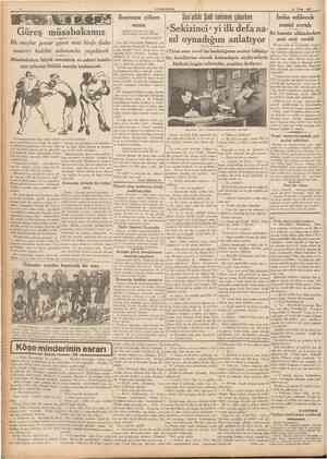 16 Nisan 1937 CÜMHUSTTET HAMID IHTIFALI Dün büyük şairin hatırası taziz edildi Dün akşam, yüksek tahsil gencliği ve...