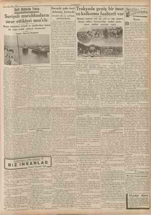 CUMHURİYET 19 Nisan 1937 BUGUNUN veYARİNIN KAHRAMANLARİ ARA5INDA Hatay yasası Heyetimiz dün Cenevreye gitti IBaştaraft 1 inct