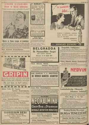 Hasan ve Nesrin kolonyaları' Türkiyede en çok satılan ve Avnıpa ve cihan tarihinde misli ve menendi olmıyan kolonyadır. Bir