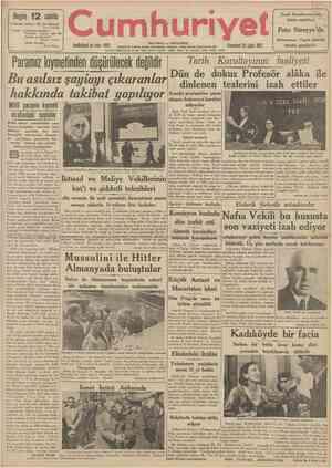 Bugün 1 2 safıife 4 üncüdej Hikâye: Bir Çin hikâyesi Şerif Hulusi 7 ncide \ Askerlik bahisleri: Yugoslav ordusu için...