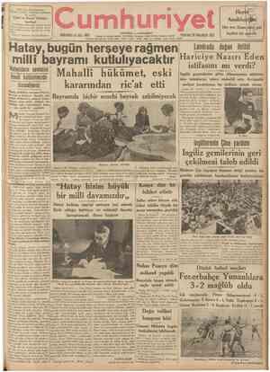 Prof. Faik Sabri Duranın Viyana Coğrafya Enstitüsü matbaasvn.' da basılan [Tabiî ve Siyasî Türkiye haritasî 1/2.000.000...