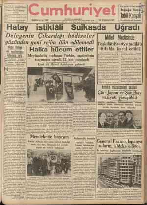 r Prof. Faik Sabri Duranm Viyana Coğrafya Enstitüsü matbaasında basılan Tabıı ve Sıyası Turkıye haritası 1/2.000.000...