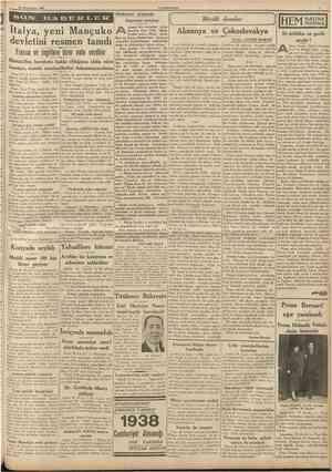 30 Ikinciteşrin 1937 CUMHURİYET SON O E Hâdiseler arasında Asyanm uyanışı syanın her yanından gelen işaretler, bize, Türk...
