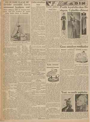 CUMHURİYET 2 tidncikânun 1933 1938 DE HARB OLACAK MI? Devletler arasındaki kuvvet muvazenesi bozulursa, evet! 1938 de...