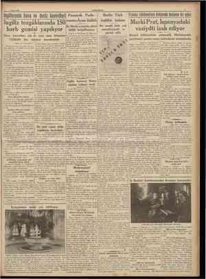 3 Mart 1938 CUMHURtYET ingilîerenin hava ve deniz kuvvetleri Hava kuvvetleri için de yeni sene bütçesine 73,500,000 lira...