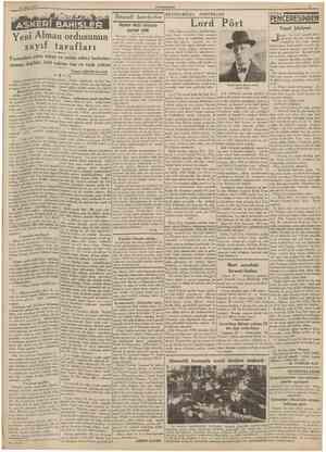 28 Nisan 1938 CUMHURfYET îktısadî harphetlor BEYNELMİLEL PORTRELER KÖŞg ASKERf BAHİSLER apon Çin harbi üzerinde konuMuamele