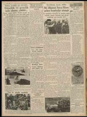 4 Mayıs 1938 CUMHURÎYET Modern cerrahide son cereyanlar tktısadî hareket lcr Yeniden bazı maddelerin standardı Fındık ve...