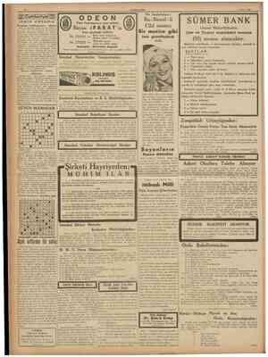 CUMHURIYET 7 Mayıs 1938 Cumhurıyet İsim ve adresinin bizde mahfuz kalma smı arzu eden Pınarbaşılı bır kariımizden aldığımız