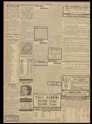 10 CUMHURİYET 13 Mayıs 1938 Cumhunyet aUlR s ö t u ı n ı ıy Kocamustafapaşada kariimiz Fevzi Guvençer imzasüe aldığımız...