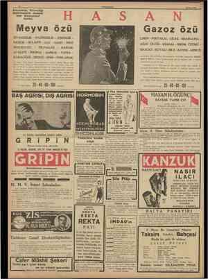 12 CUMHURlYET 20 Mayıs 1938 FRIGIDAIRE IMA. ken/ıe hen, /uuu cuıka luL Herkesin üzerinde ittifak ettiği bir hakikat: Sabah,