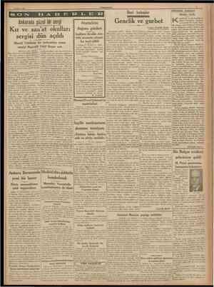22 Mavıs 1938 CUMHURtYET İleri bakıslar Hâdiseler arasında Hakkı fetih anında bir damla Arablık olmıyan Fransanın Suriyede ve