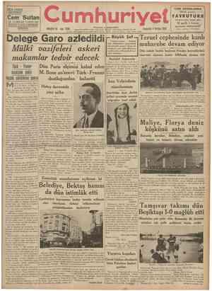 """f HER YERDE ARAYINIZ """"\ Cem Sultan M. TURHAN TANIN EN GÜZEL ESERLERİNDEN BİRİDİR. yll umhuri Cumhurreisimiz Atatürk dün..."""