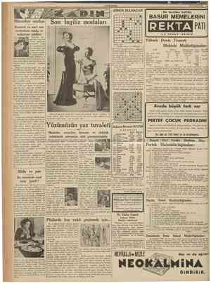 CUMHURIYET 19 Temmuz 1938 1 2 3 1 Mücevhermodası Kıymetli ve sun'î mücevherlerin takılış ve muhafaza şekilleri Mücevher tak