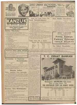 10 CLJMHL'KIYEl 10 Ağustos 1938 ZBVCI ONOAN KAÇIYOROU» Benl Nıhadlırtn imareslne ] beklediklerinl, ı t n a haber vermeği...
