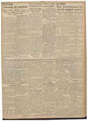 29 Ağustos 1938 Sehircilik etrafında CUMHURtYET Lüzumlu bir teşebbüs Beîediye reislerile faydalı azalarımızın Avrupa...