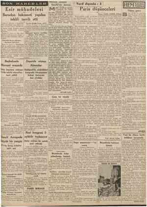 1 Eylul 1938 CUMHUKIYET SON Hâdiseler arasında Gandhi'nin damarı eşhur Gandhi'nin damarlan sertleşmiş. Bir Fransız muharriri,