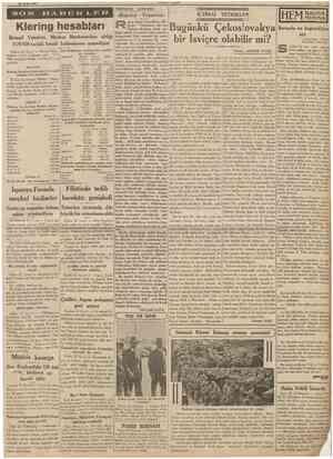 23 Eylul 1938 Hâdise!er arasmda SON «Boğaziçi Yakından» İÇTİMAI TETKİKLER uşen Eşref Unaydmın «Boğaziçi Yakından» adh son...