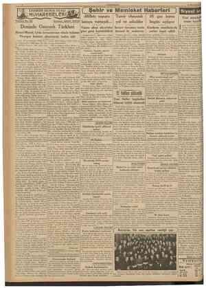 CUM1IURIYE1 15 İkincikânun 1939 TARiHDE BtyüK DEMİZ Tefrika No. 65 Nakleden: ABID1N DAVER [ Şehir ve Memleket Haberleri )...