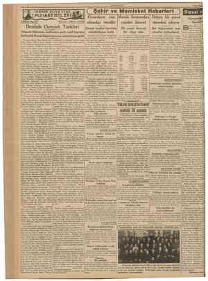 CUMHURÎYET 17 îkîncikâmm 1939 TARİHDE Bliytik DENİZ Tefrika No. 67 MUHAREBELERi! Nakleden: AB1D1N DAV£R ( Şehir ve Memleket