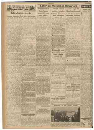 CUMHURtYET 20 İkinciliântm 1939 TARiHDE BüyUK DENİZ Tefrika No. 70 MUHAREBELERi? NakleHen: AB1DÎN DAVER Şehir ve Memleket...