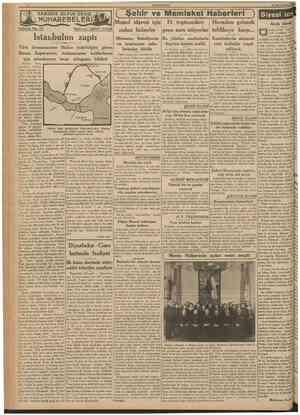 CUMHURtYET 23 İkincikânun 1939 JifcMUHAREBELERi! Teffrika No. 7 3 Nakleden: D.4V£/? TARİHDE BİJyüK DENİZ ( Şehir ve Memieket