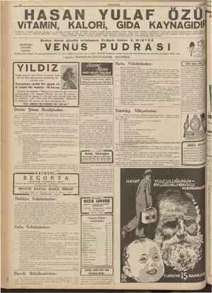 10 CUMHÜRITET 1 Mart 1939 Çocııkların en hayatî gıdasıdır. Türkiyede ve diinyada HASAN YULAF ÖZÜNÜN benzerine tesadüf etmek