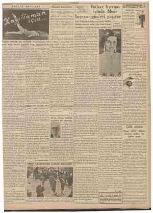 20 Mart 1939 CUMHURÎYET SA'ĞLIK NOTLARI Iktısadî hareketler Gene kadın çorabları... İktısad Vekâleti, kadın çorabları...