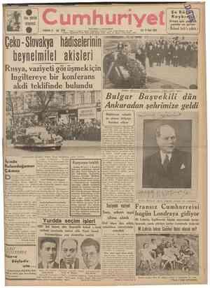 heı yerde arayınız. yil . umhuri POQ . İSTANBÜL CAÖÂLOĞLU 0dü4 Telgraf ve mektub adresl: Cumhuriyet. tstanbul Posta kutusu: