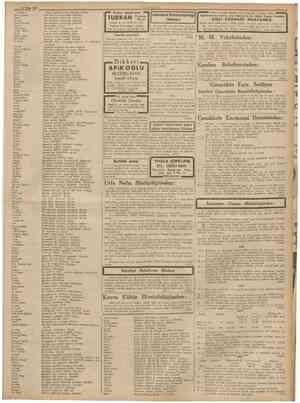 22 Nîsan 1939 CUMHURÎYET Hisse taahhüd ettiği zamanki adresi Zat maaşlan mutemedi. İstanbuL Zat maagları mutemedi. İstanbul.