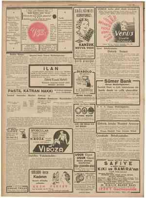 CUMHURÎYET 22 Nisan 1939 Hiçe gitti Hüsmen Ağa ... j Refik Halid'in nefis fıkrası Nizameddin Nazif : Ölülerimize niçin hürmet