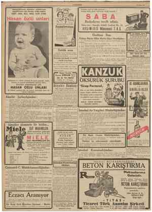 12 CUMHTJRÎYET 25 Nisan 1939 Doktorlarımızın annelere evlâdlannın neşvilneması için tavsiye ettiği yegâne Evinizde neş'e ıle