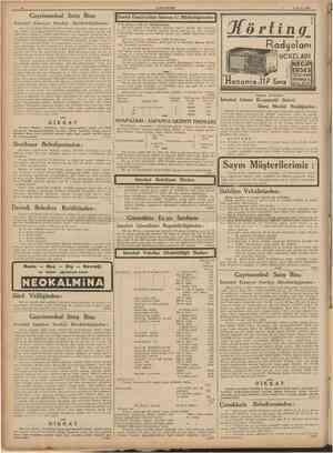 10 13 Mayıs 1939 Gayrimenkul Satış İlânı îstanhnl Emniyet Sandığı DirektÖrlüğünden: Bay Ahmed Kâşif Öztoprağm 23117 hesab...