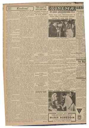 CUMHLKlxLT 3 Temmuz 1939 KUçUk hikâye Kivılcım! M. K. Su yerde moda oluyor RADYO 39 senesi şampiyonlarından 20 si Bu akşamki
