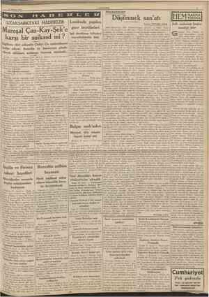 12 Ağustos 1939 CUMHURtYIM: UZAKŞARKTAKİ HÂDİSELER Andre Maurois'nır. «Bir Yaşamak leceğıni anlatarak şu hükmü venyor:...