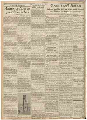 t;u m ıı u ıtT Y w 31 Afnsfos 1939 Askerlik bahisleri IBaştarafı 1 inci $ahifede'\ sînce kabul edilmediğinden müzakereler...