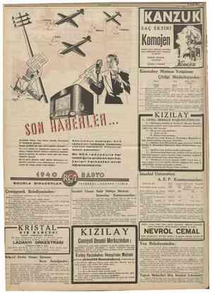 ( Son dakika ) Londra 17 (Hususî) Bükreşteki Sovyet elçisi bu aksam Ruman~ ya Hariciye Nazırını ziyaretle bir nota tevdi...