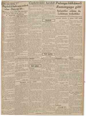 UOKHUKIYET 18 Eylui 1939 O J? Sovyet orduları dün Leh topraklarına girdi Dün yapılan müsabakalar {Baştarafı 1 inci sahijede)