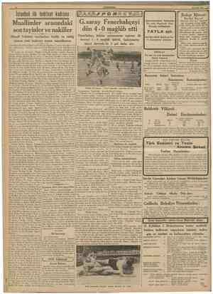 CUÎtTHUltf YKT 25 Evlul 1939 lstanbul ilk tedrisat kadrosu Muallimler arasmdaki son tayinler ve nakiller Maarif Vekâleti...
