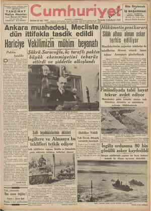 Tanzimatıa yüzüncü yıldönümü münasebetile oeşrolunan vesikalara müstenid eser TANZiMAT Maliye Nazırları Mehmed Zeki Pakalın