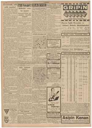 CUMHURÎYEÎr 18 İkinciteşrin 1939 Gramersizlik, imlâsızlık meselesi! Halebde Osmanh Bankası Bayram arifesinde, dört gün...