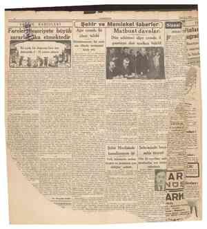 CUMHURİYET 1 Mart 1940 inlandiyada harb son derecede şiddetlenmiştir. Ruslar buzlar çözülmeden evvel Viborg müstahkem...