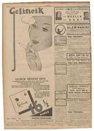 eltnciK CUMHURİYET 13 Haziran 1940 KADIKÖY j N C İ KAZİNOSUNDA Memleketln tanınmış sazende vs okuyucularının Iştlraklle...