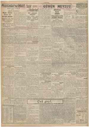CUMHURİYET 12 Ikinciteşrin 1940 I Büyiik sıyası tefrika: Majino efsanesi Fransa için bir haile olmuştur Yazan: GORDON...